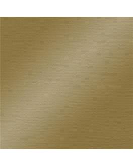nappes pliage m 48 g/m2 80x80 cm or cellulose (200 unitÉ)