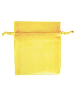 48 u. bolsas organdy con cierre 12,5x17 cm champÁn microfibra (1 unid.)
