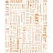 emballages pour hamburgers 'parole' 32 g/m2 28x34 cm orange parch.ingraissable (1000 unitÉ)
