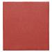 servilletas ecolabel 'double point' 18 g/m2 33x33 cm burdeos tissue (1200 unid.)