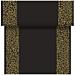 """""""tÚ y yo"""" pre 120cm (20 ser.) """"arabesco"""" 55 g/m2 0,40x24 m negro airlaid (6 unid.)"""