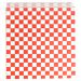 sachets ouverts 2 cÔtes 'fitipaldi' 32 g/m2 17x18 cm rouge parch.ingraissable (500 unitÉ)