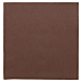 servilletas ecolabel 'double point' 18 g/m2 39x39 cm chocolate tissue (1200 unid.)