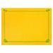 mantelines 48 g/m2 31x43 cm amarillo sol celulosa (2000 unid.)