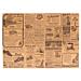 mantelines - reciclados 'times' 48 g/m2 31x43 cm natural papel (2000 unid.)