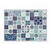mantelines offset 'azulejos' 70 g/m2 31x43 cm cuatricromÍa papel (2000 unid.)