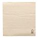 servilletas ecolabel 1 capa 23 g/m2 33x33 cm natural tissue reciclado (3000 unid.)
