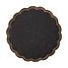 posavasos 9 capas 8x18 g/m2 + (30+12) g/m2 Ø9 cm negro tissue (3000 unid.)