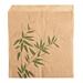 bolsas abiertas 2 lados 'feel green' 34 g/m2 13x14 cm natural perg. antigrasas (1000 unid.)