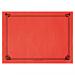mantelines 48 g/m2 31x43 cm rojo celulosa (2000 unid.)