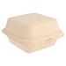 conchas hamburguesa 'bionic' 450 ml 15,2x15x8,4 cm natural bagazo (600 unid.)