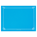 mantelines 48 g/m2 31x43 cm azul turquesa celulosa (2000 unid.)