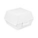 burger boxes 'thepack' 230 gsm 14,4x13,6x9,2 cm (l+) white nano-micro corrugated cardboard (500 unit)