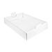 bandejas reagrupar 54,5x38,5x9,5 cm blanco cartÓn (50 unid.)