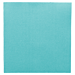 servilletas ecolabel 'double point' 18 g/m2 33x33 cm azul turquesa tissue (1200 unid.)