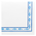 "servilletas ecolabel ""marisquerÍa"" 'double point' 18 g/m2 40x40 cm blanco tissue (1200 unid.)"