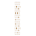 sachets boulangerie 'ceres' 33 g/m2 9+4x54 cm blanc cellulose (250 unitÉ)