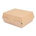 "boÎtes ""lunch box"" 'thepack' 220 g/m2 22,5x17x8,5 cm naturel carton ondulÉ nano-micro (300 unitÉ)"