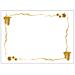 mantelines 'bacchus' 48 g/m2 31x43 cm blanco celulosa (2000 unid.)