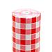 mantel en rollo 'aneto - vichy' 48 g/m2 1,20x100 m blanco celulosa (4 unid.)