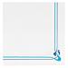 servilletas ecolabel azul & celeste 'double point - maxim' 18 g/m2 40x40 cm blanco tissue (1200 unid.)