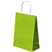 sacchetti sos con manici 80 g/m2 26+14x32 cm verde anice cellulosa (250 unitÀ)