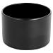 """bases lampe de table """"ambeo"""" Ø 7x14 cm noir metal (6 unitÉ)"""