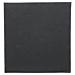 servilletas ecolabel 'double point' 18 g/m2 39x39 cm negro tissue (1200 unid.)