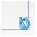 servilletas ecolabel 'double point - cadaquÉs' 18 g/m2 40x40 cm blanco tissue (1200 unid.)