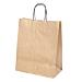 sacchetti sos con manici. 80 gr/m2 26+14x32 cm oro kraft (250 unitÀ)