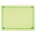 mantelines 48 g/m2 31x43 cm verde anÍs celulosa (2000 unid.)