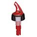dosificador bebidas a caÑo 30 ml 10x4,5 cm rojo plÁstico (1 unid.)