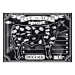 mantelines offset 'steak house' 70 g/m2 31x43 cm cuatricromÍa papel (2000 unid.)