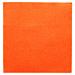 servilletas ecolabel 'double point' 18 g/m2 33x33 cm naranja tissue (1200 unid.)