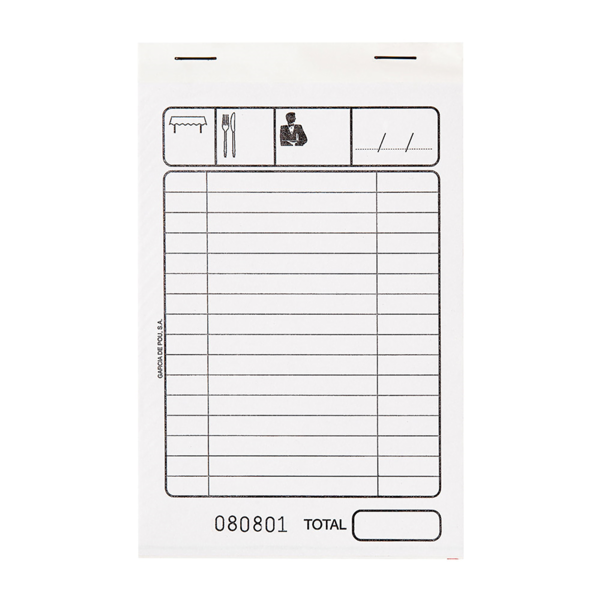 blocs factures dupli 50x2 feuilles 10x15 cm blanc autocopiant (100 unitÉ)