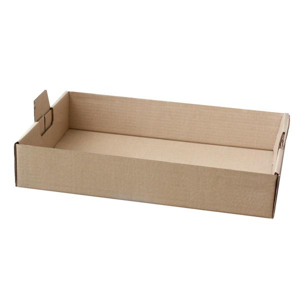 bandejas catering 54,5x38,5x9,5 cm habana kraft (50 unid.)
