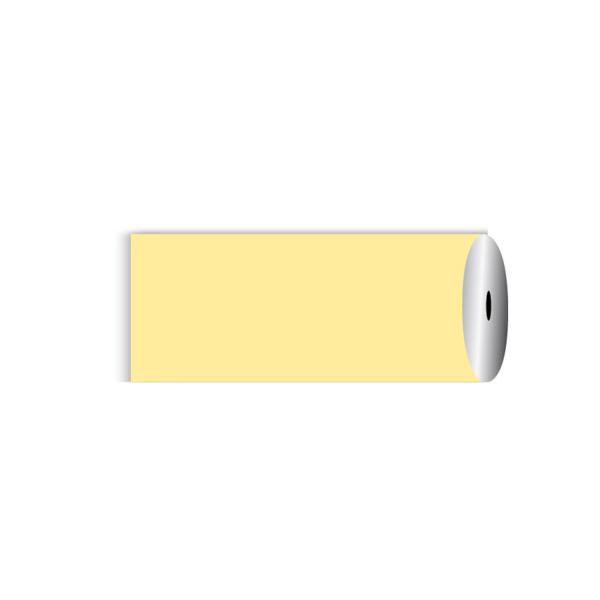 mantel en rollo 60 g/m2 1,20x50 m amarillo pÁlido airlaid (1 unid.)