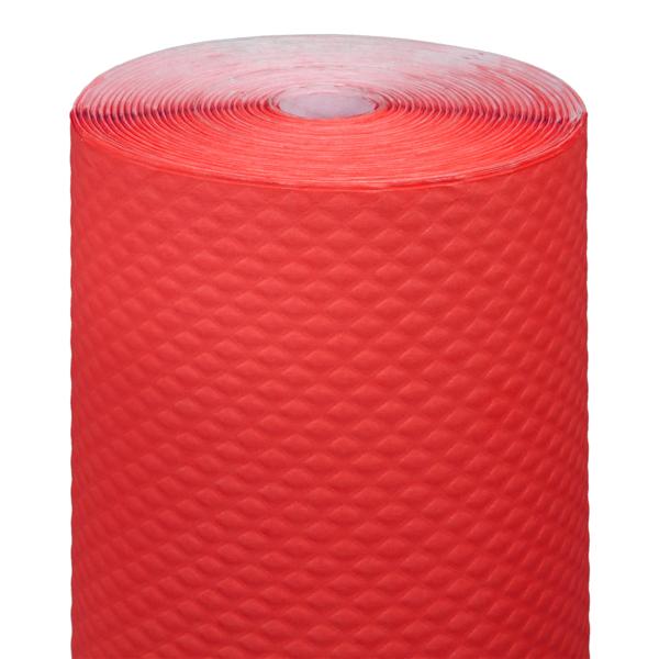 mantel en rollo 48 g/m2 1,20x100 m rojo celulosa (4 unid.)