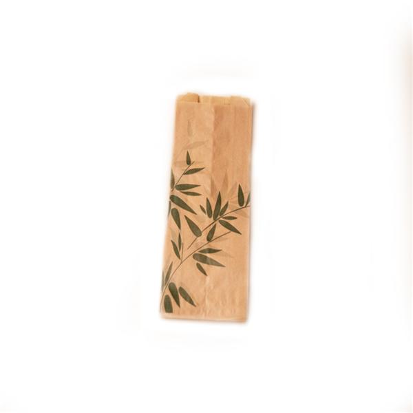 sachets mini sandwichs 'feel green' 34 g/m2 7+4x22 cm naturel parch.ingraissable (500 unitÉ)