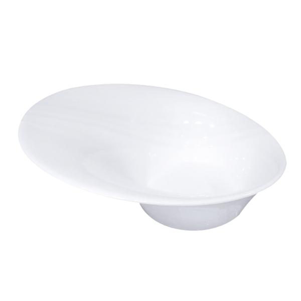 boles irregulares 360 ml 20x18x7,5 cm blanco porcelana (6 unid.)