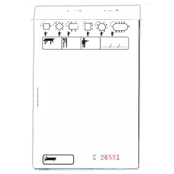 blocs commandes standard tripli 50x3 feuilles 10x15 cm blanc autocopiant (100 unitÉ)
