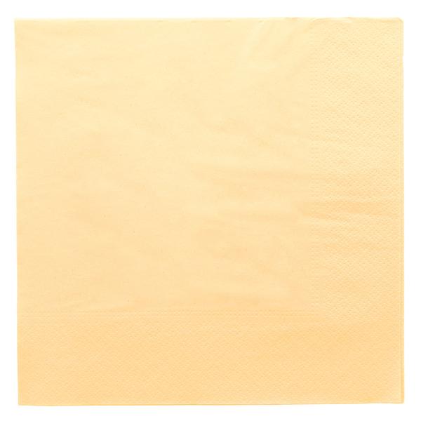 servilletas ecolabel 2 capas 18 g/m2 39x39 cm marfil tissue (1600 unid.)