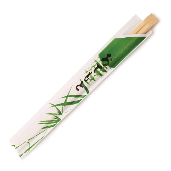 palillos chinos enfundados 20 cm natural bambÚ (100 unid.)