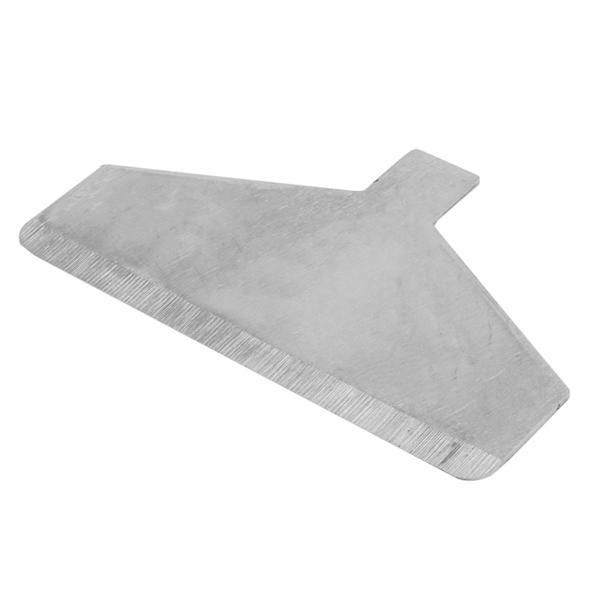 cuchilla rascador grill para cÓdigo 224.41 12,8x7,7 cm plateado acero (1 unid.)