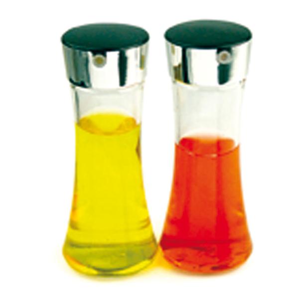 2 huiliers 200 ml Ø 6,5x16,5 cm transparent verre (1 unitÉ)