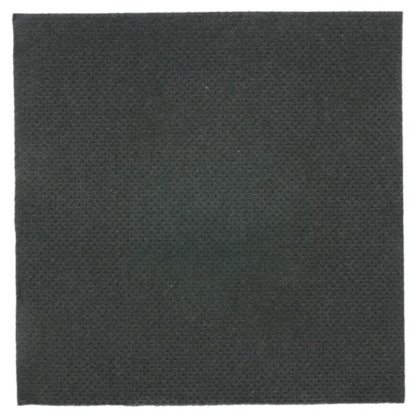 serviettes ecolabel 'double point' 18 g/m2 20x20 cm noir ouate (2400 unitÉ)