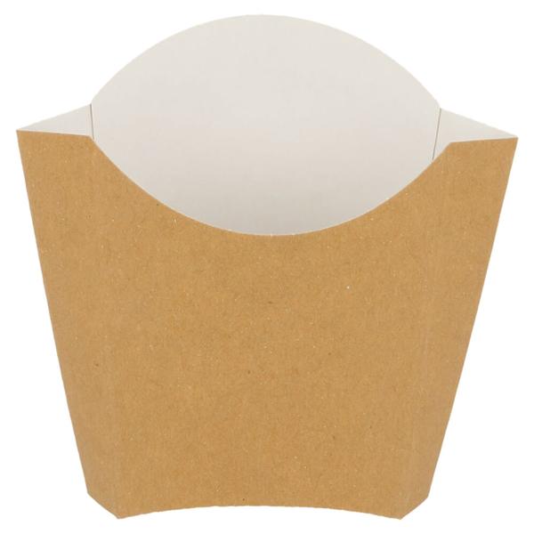 scatolina per fritti 135 g 300 g/m2 13x8x13,5 cm marrone cartone (1200 unitÀ)