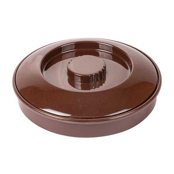 rÉcipients pour tortillas Ø 19 cm marron mÉlamine (1 unitÉ)