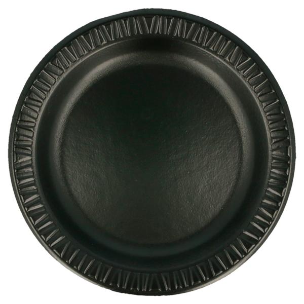 platos laminados con pe Ø 18 cm negro pse (1000 unid.)