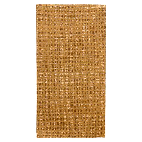serviettes ecolabel p. 1/8 'double point - arpillera' 18 g/m2 40x40 cm marrÓn ouate recyclÉe (1200 unitÉ)